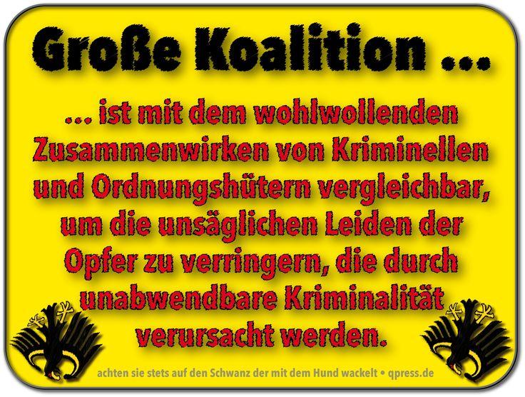#GroKo #Bundesregierung #Koalition … mal eine treffende Beschreibung dazu