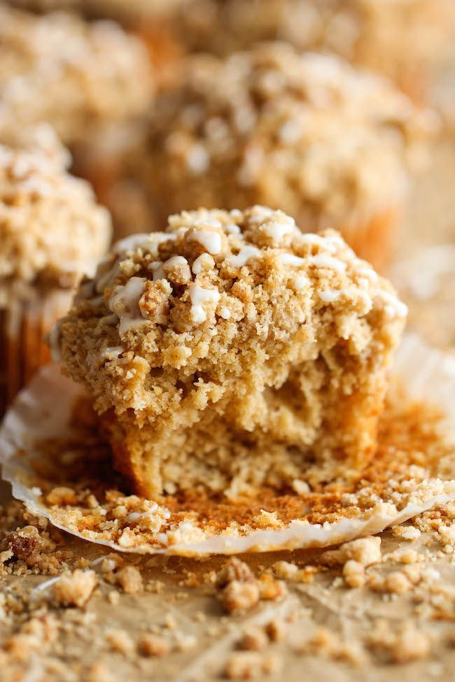 Coffee Cake Muffins – Breakfast at Tiffany's