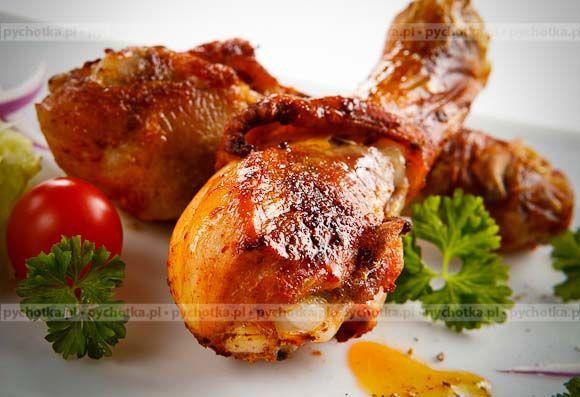 Pałki z kurczaka pieczone na grillu