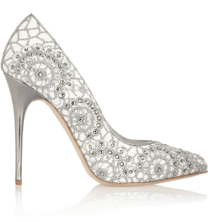 bridal shoes with bling ten pairs of sparkly footwear