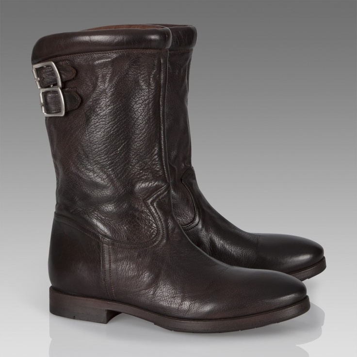 Paul Smith Shoes | Chocolate Brown Scuba Boots