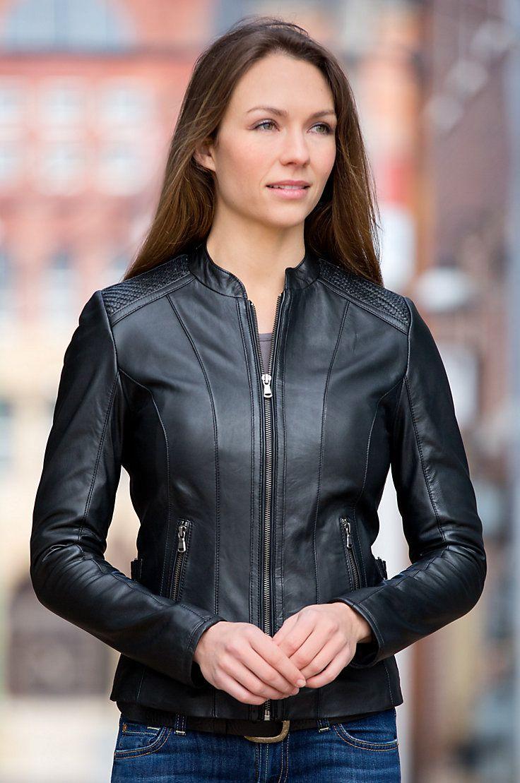 Luna Lambskin Leather Jacket | Overland Sheepskin