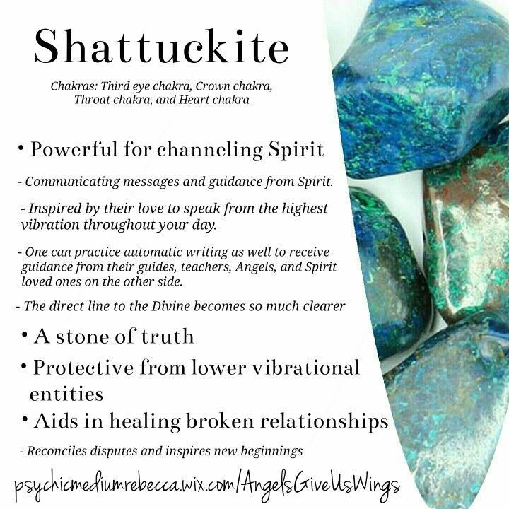 Shattuckite crystal meaning