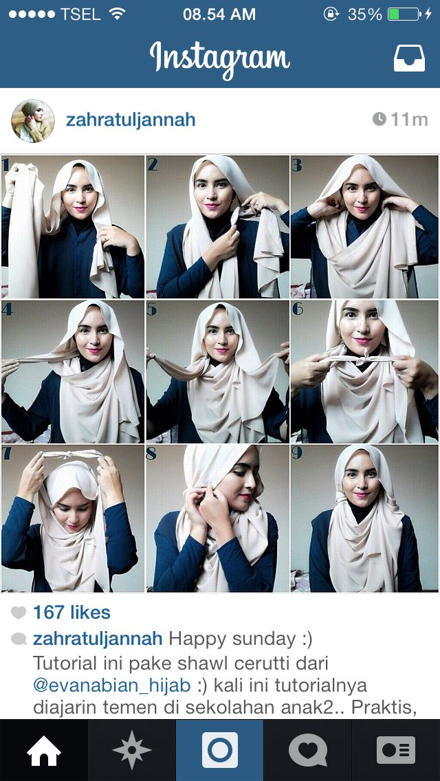 FAV PARTY Hijab tutorial