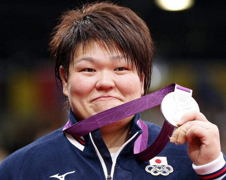 柔道女子78kg超級表彰式
