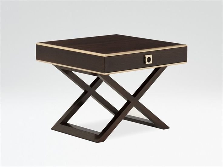 Wooden bedside table DAMASIO - ARMANI / CASA