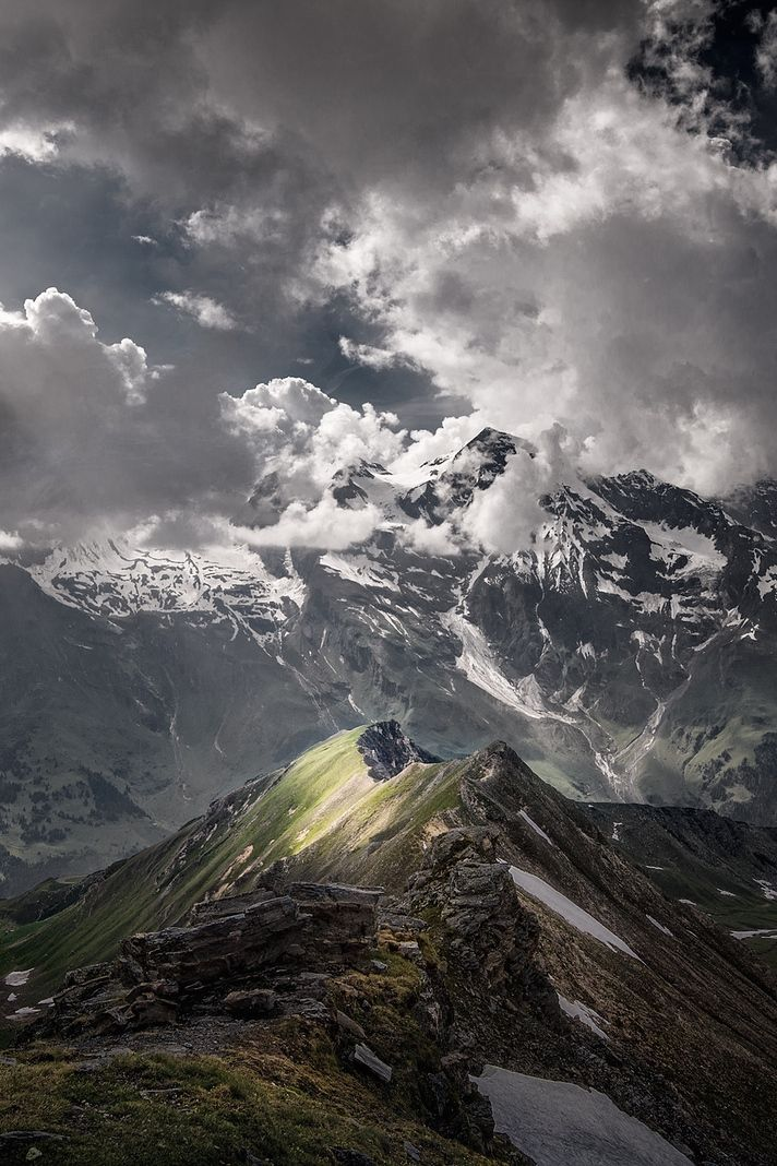 Love photography that has dramatic clouds such as these   austrian alps #nature ...