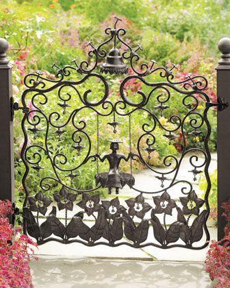Mrs. Powers Garden Gate by MacKenzie-Childs