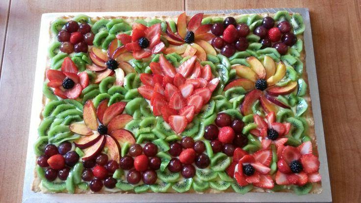 Crostata di frutta di fine scuola