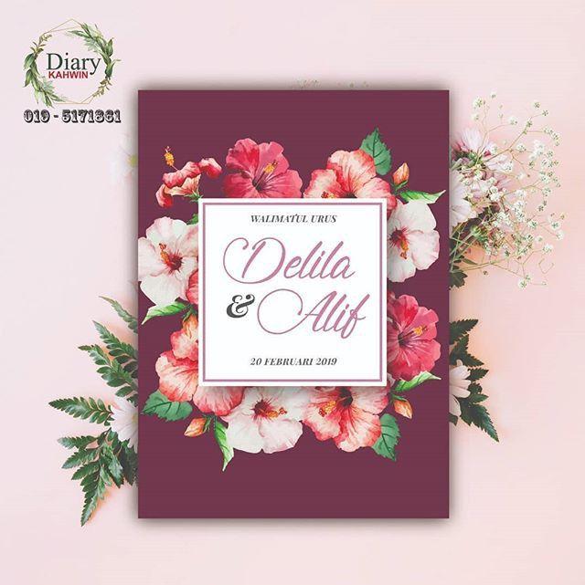 Pin By Nuramani Salleh On Wedding Invitations Kad Jemputan Wedding Invitations Invitations Wedding