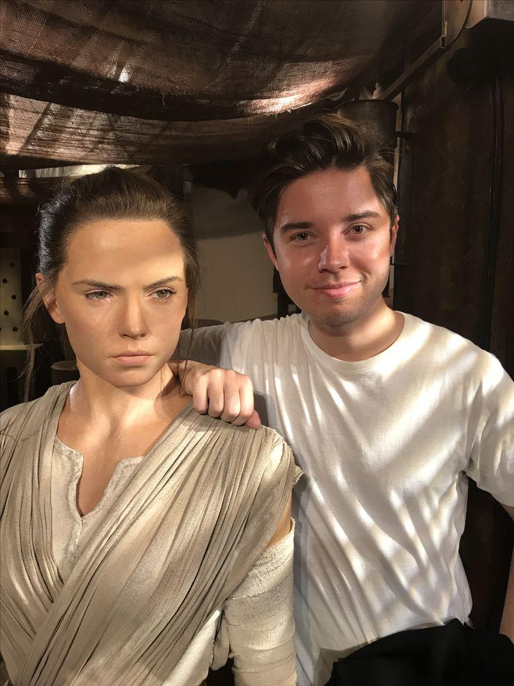 Star wars the last Jedi Rey eddie wallin