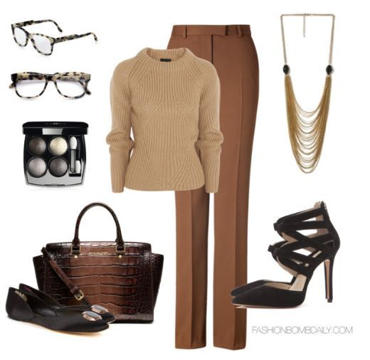 16e2ad8ec2 Fall 2013 Style Inspiration  5 Fun Business Casual Outfit Ideas ...