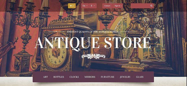 4+ Smart & Classic Antique Shop & Rare, Collectible Coin Store Website Themes for PrestaShop
