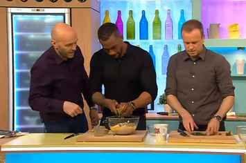 Please Enjoy This Clip Of Richard Blackwood Pretending He Knows How To Zest A Lemon