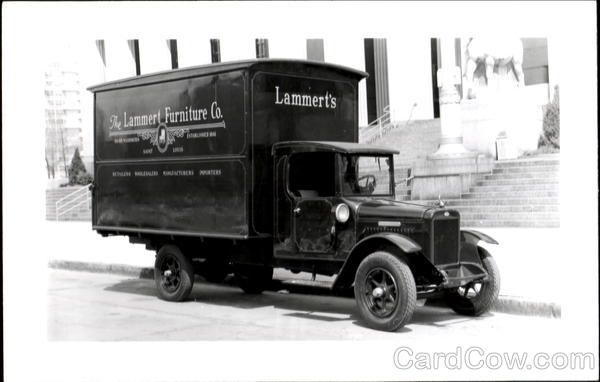 The Lammert Furniture Co Delivery Truck