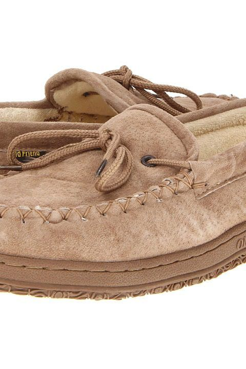 Old Friend Cloth Lined Moccasin (Chestnut) Men's Slippers - Old Friend, Cloth Lined Moccasin, 484132, Men's Casual Slippers Slippers, Outdoor Sole, Slipper, Closed Footwear, Footwear, Shoes, Gift, - Street Fashion And Style Ideas