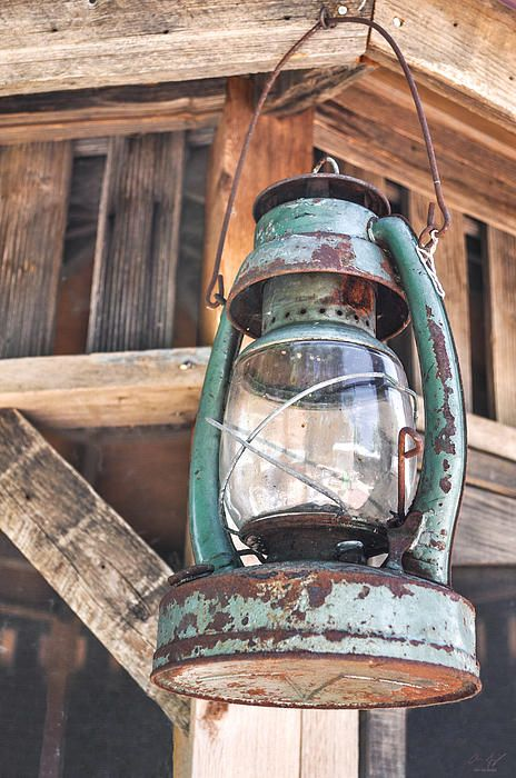 Old Rusty Lantern - Fine Art Print - http://fineartamerica.com/featured/lantern-aaron-spong.html?newartwork=true