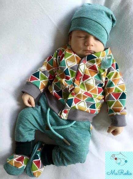 Geknöpftes Babyjäckchen - Nähanleitung via Makerist.de