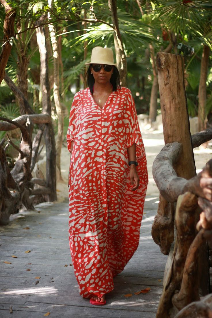 Beaute' J'adore: DIY Resort Style Caftan pt2