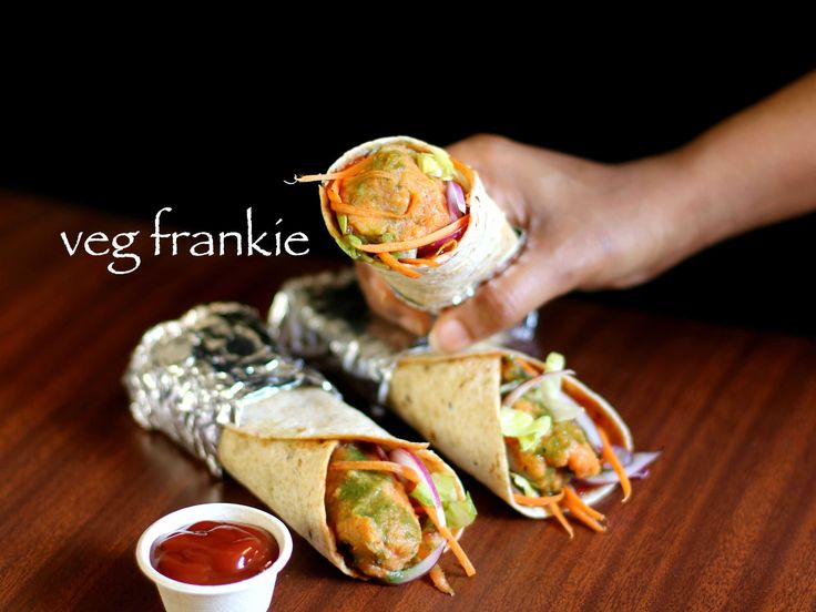 veg frankie recipe, veg kathi roll recipe, veg frankie roll with step by step photo/video. street food of india also known as kati roll or frankie wrap.