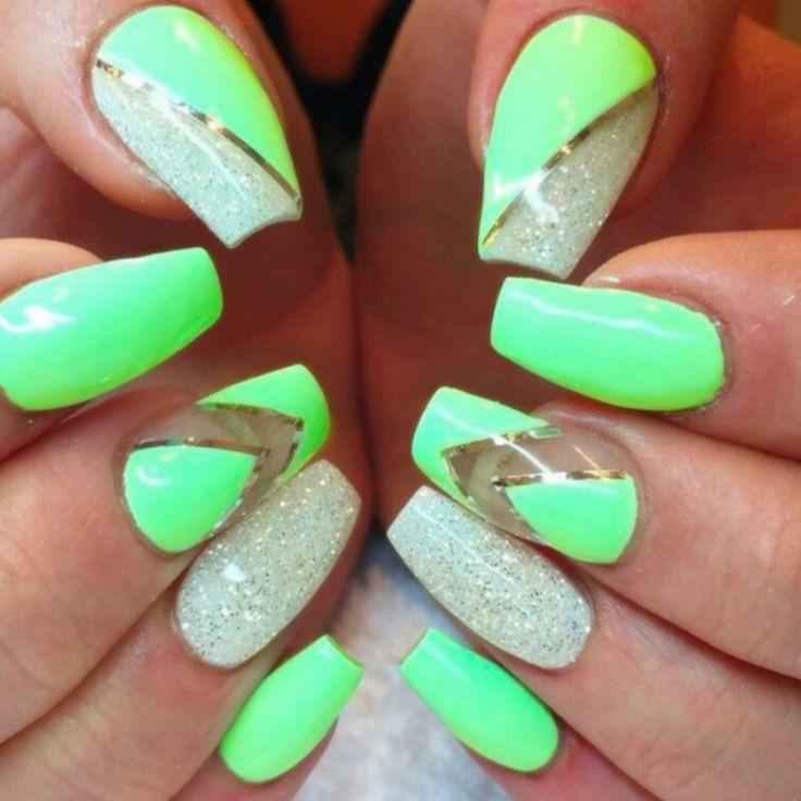 Mejores 31 imágenes de Nails en Pinterest | Uñas bonitas, Uñas de ...