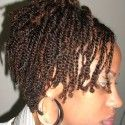 two strand twist natural