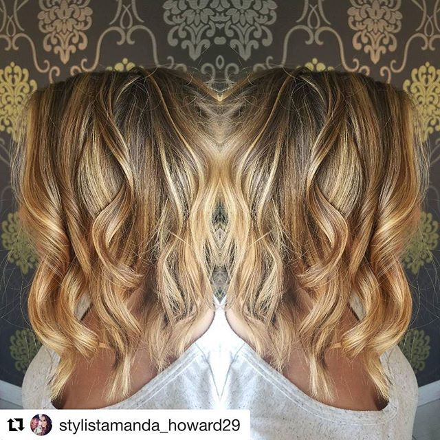 This balayaged beauty is ready for country fest!💁. #balayage #lob #ipainthair #nofilter #salonriza #teamriza