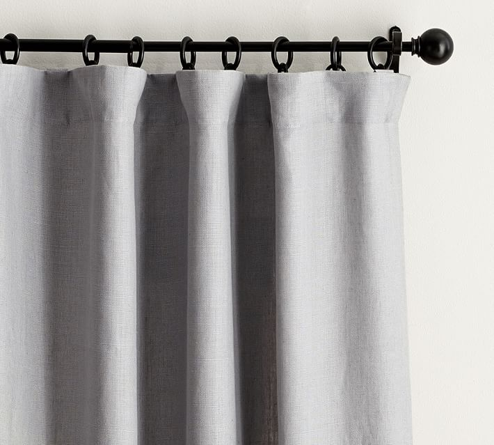 Belgian Linen Curtain Made With Libeco™ Linen