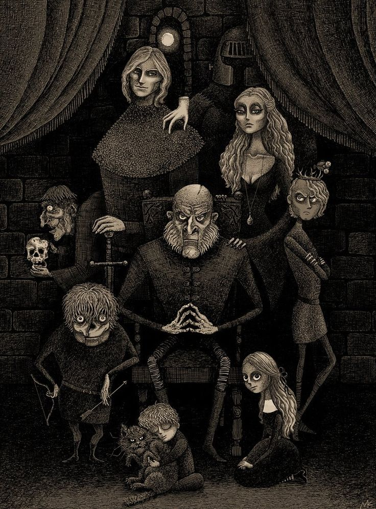 The Lannister Family by bubug on @DeviantArt