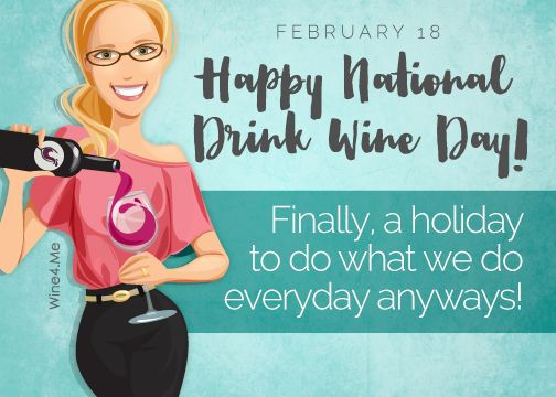 Happy National Drink Wine Day, friends! - Mom's Toolbox