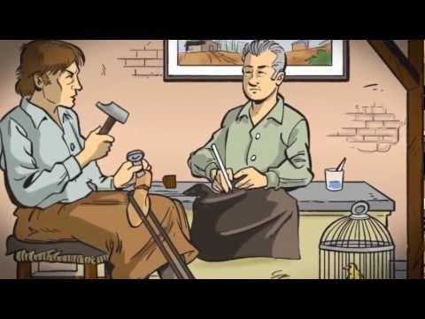 De Van Bommel familie maakt al 278 jaar schoenen: reden voor hun eigen stripboek! Shop Van Bommel bij DiCapolavori.com