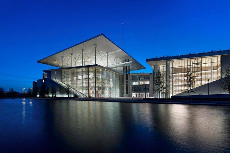 renzo piano unites opera house and library with cultural complex in athens