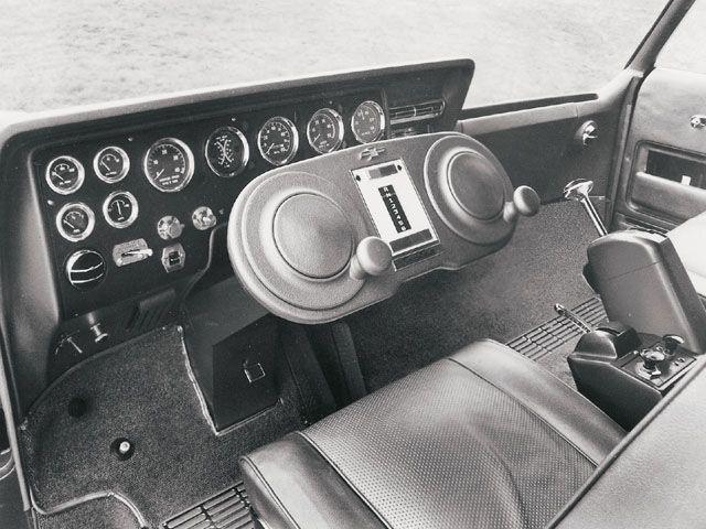 fuck.yeah.instrument.panels - 1965 Chevrolet Turbo Titan III - Dual Steering...