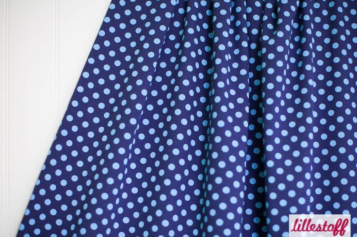 lillestoff » Dotties dunkelblau hellblau « // ausverkauft