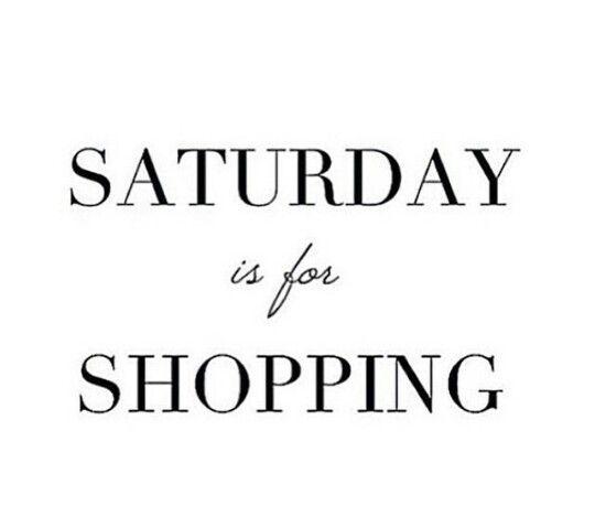 Retail Therapy #HappySaturday