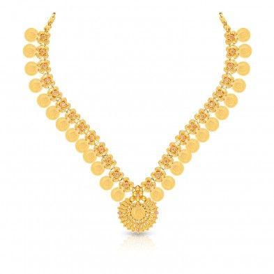 malabar gold necklace kasu mala pinterest
