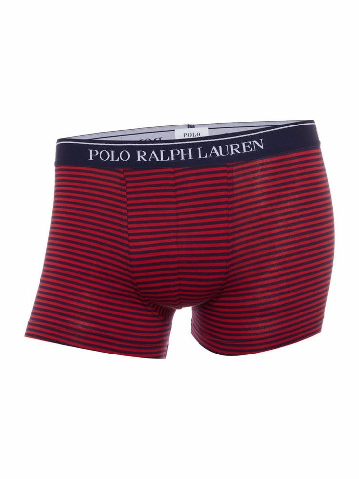 Ralph Lauren Polo Mens Red Striped Boxer Underwear - Size Medium / Gift for him  | eBay