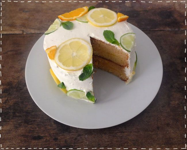 Cake Stella Mc Cartney | Make my lemonade