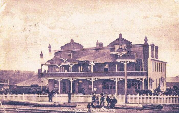 Hotel Hydora at Blackheath in the Blue Mountains region of New South Wales (year unknown).