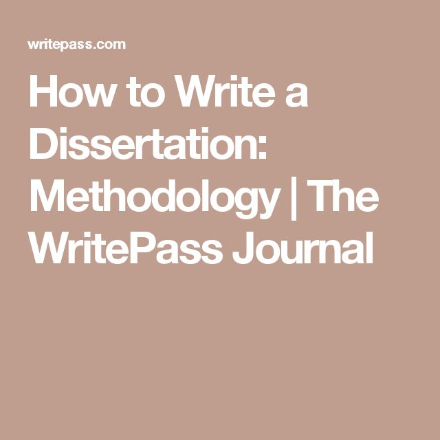 writing the social science dissertation Dissertation proposal development (dpd) program supporting the development of innovative dissertation proposals in the humanities and social sciences.