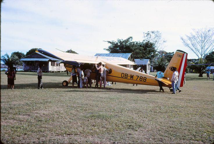helio courier OB M 788property of cerro de pasco corporation  in medical evacuation