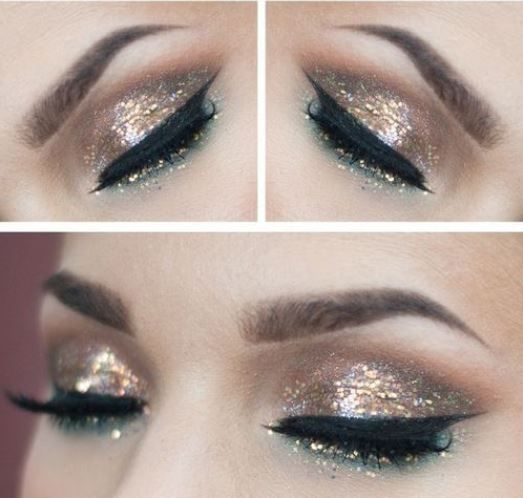 Make up occhi per Capodanno 2014