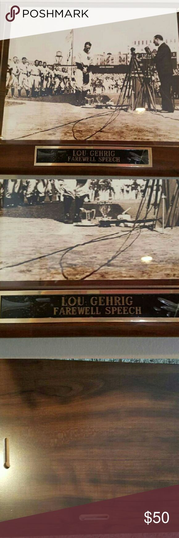 lou gehrig s farewell speech When they finished their act, a soldier shouted, hey, coop, how about lou gehrig's farewell speech to the yankees the soldiers had recently seen pride.