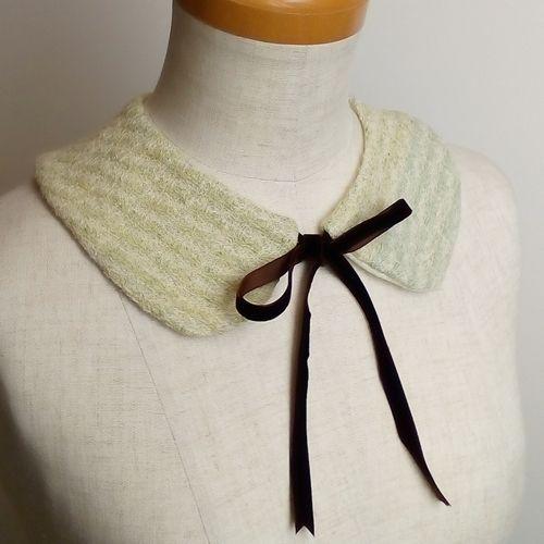 親子でおそろいで作れる簡単つけ衿の作り方 手順|11|その他|ファッション小物|ハンドメイド、手作り作品の作り方ならアトリエ