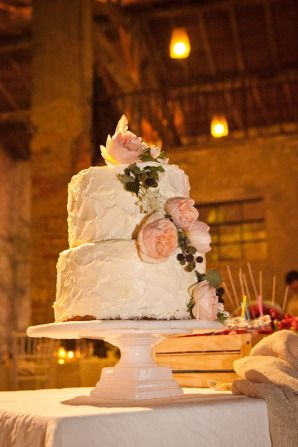 pink peony cake // more on: http://weddingwonderland.it/2014/12/matrimonio-handmade-colori-pastello.html