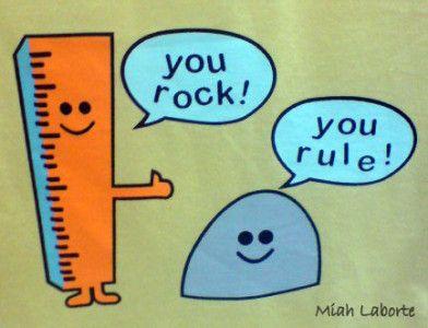 you rock! funny rock rule