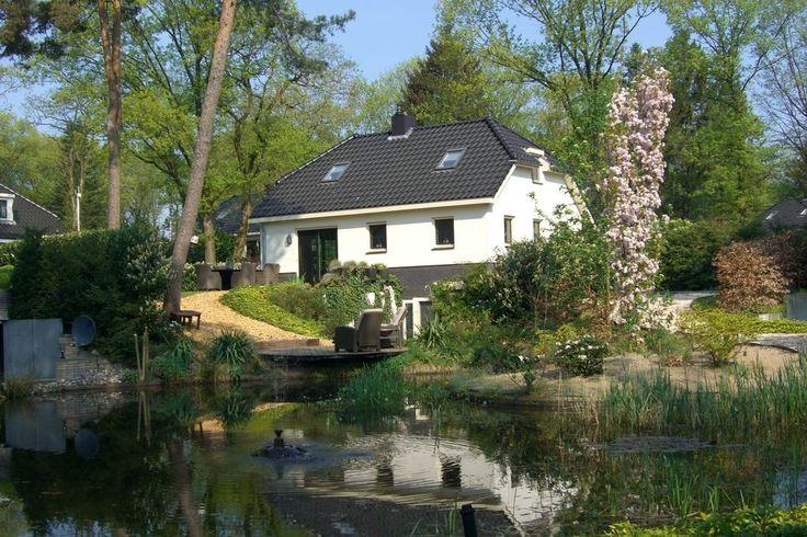Luxe vakantiewoning met eigen wellnessfaciliteiten op vakantiepark midden in de Veluwse bossen