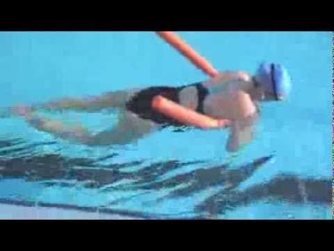 Natación en el embarazo: ejercicios de espalda - YouTube