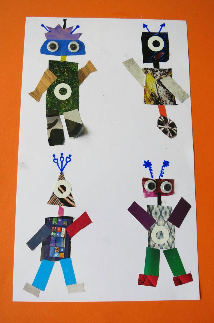 Petits Grans Artistes!: TAPA PROJECTE: ELS ROBOTS