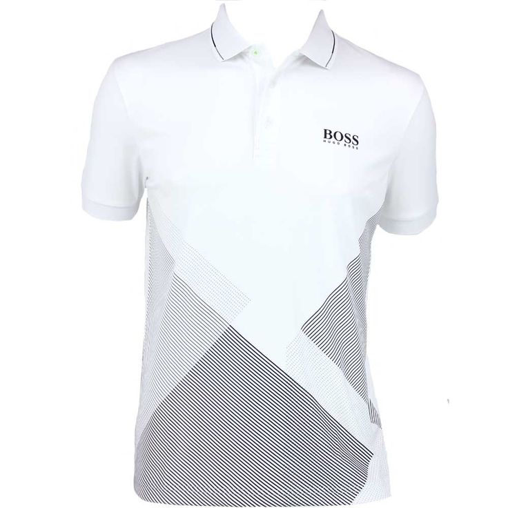 http://www.golfposer.com/pr/5580/hugo-boss-paddy-pro-2-golf-shirt-training-white-ps15 #HugoBoss